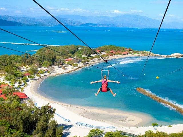 TapeMyDay Private Island Zipline